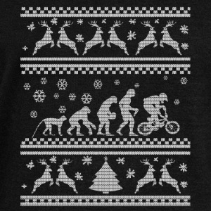 BIKE EVOLUTION CHRISTMAS SEDITION Hoodies & Sweatshirts - Women's Boat Neck Long Sleeve Top