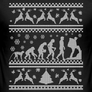 KLIMMEN KERST OPRUIING EVOLUTION  T-shirts - slim fit T-shirt