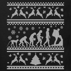 CLIMBING CHRISTMAS SEDITION EVOLUTION  Shirts - Kids' Organic T-shirt