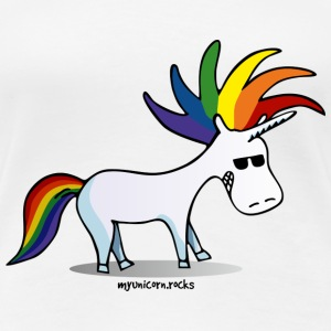 Punk Unicorn, Punky Unicorn T-shirts - Vrouwen Premium T-shirt