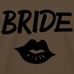 Bride Kiss black - Männer Premium T-Shirt