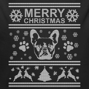 FRENCH BULLDOG CHRISTMAS EDITION Baby Bodysuits - Longlseeve Baby Bodysuit