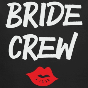 Bride Crew Kiss grey - Baby Bio-Langarm-Body