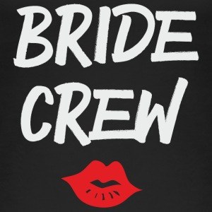 Bride Crew Kiss grey - Frauen Bio Tank Top