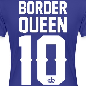 Border Collie-Queen T-Shirts - Frauen Premium T-Shirt