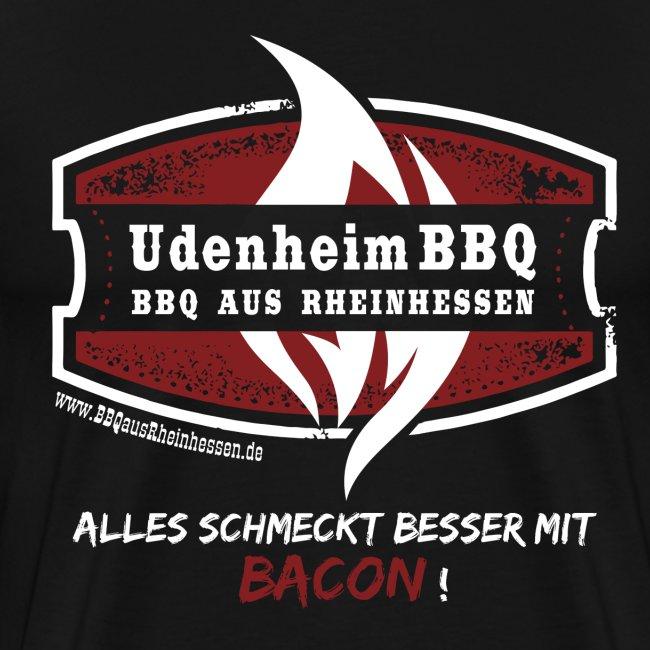 UdenheimBBQ Herrenshirt Bacon