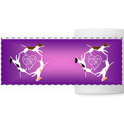 Three pointers heart mug2