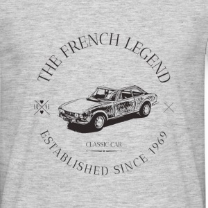 PEUGEOT 504 coupé FRENCH CAR - T-shirt Homme