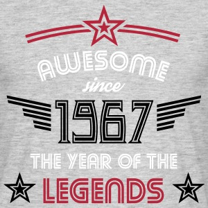 Awesome since 1967 T-Shirts - Männer T-Shirt