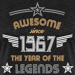 Awesome since 1967 T-Shirts - Frauen Premium T-Shirt