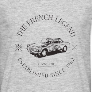 PEUGEOT 404 coupé FRENCH CAR - T-shirt Homme