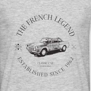 404 coupé FRENCH CAR Tee shirts - T-shirt Homme