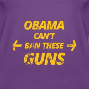 Obama can´t BAN these Titty Tops - Frauen Premium Tank Top