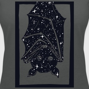 Charcoal Spacebat T-Shirts - Women's V-Neck T-Shirt