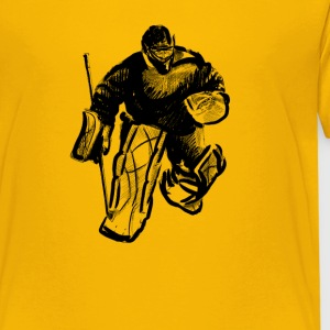 Hockey goalkeeper T-shirts - Teenager premium T-shirt