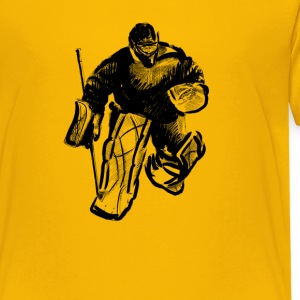 Hockey goalkeeper Shirts - Teenager Premium T-shirt