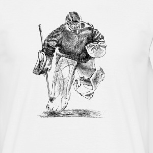 Hockey goalkeeper T-shirts - Herre-T-shirt