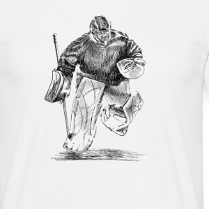 Hockey goalkeeper Tee shirts - T-shirt Homme