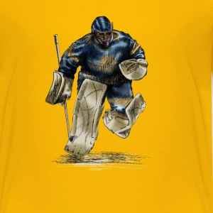 Hockey goalkeeper Tee shirts - T-shirt Premium Ado