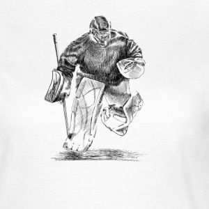 Hockey goalkeeper T-Shirts - Women's T-Shirt