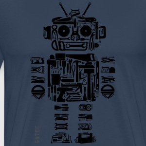 Toolbot T Blue - Men's Premium T-Shirt