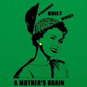 Mother's Brain Green - Tote Bag