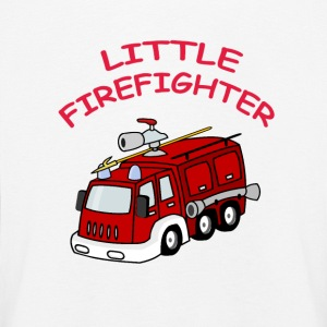 Little Firefighter Langarmede T-skjorter - Premium langermet T-skjorte for barn