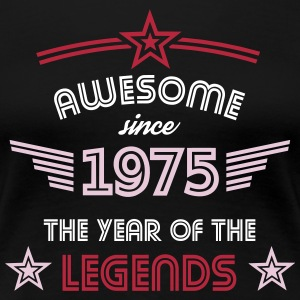 Awesome since 1975 T-Shirts - Frauen Premium T-Shirt