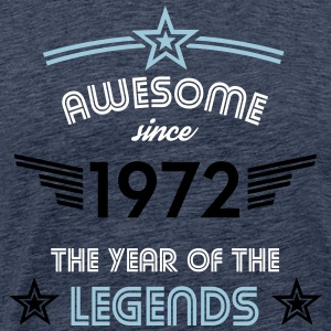 Awesome since 1972 T-Shirts - Männer Premium T-Shirt