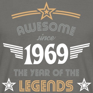 Awesome since 1969 T-Shirts - Männer T-Shirt