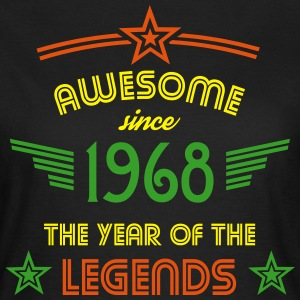Awesome since 1968 T-Shirts - Frauen T-Shirt
