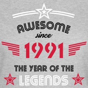 Awesome since 1991 T-Shirts - Frauen T-Shirt