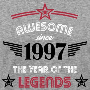 Awesome since 1997 T-Shirts - Männer Premium T-Shirt