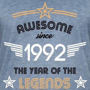 Awesome since 1992 T-Shirts - Männer Vintage T-Shirt