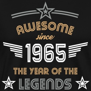 Awesome since 1965 T-Shirts - Männer Premium T-Shirt