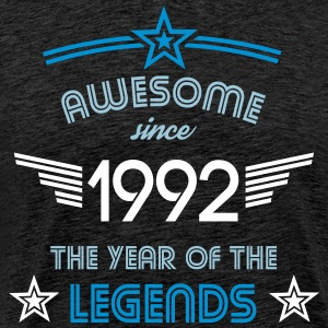 Awesome since 1992 T-Shirts - Männer Premium T-Shirt