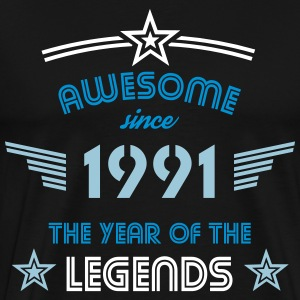Awesome since 1991 T-Shirts - Männer Premium T-Shirt