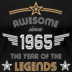 Awesome since 1965 T-Shirts - Frauen Premium T-Shirt