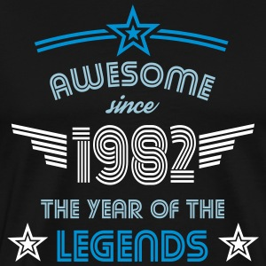 Awesome since 1982 T-Shirts - Männer Premium T-Shirt