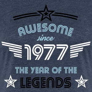 Awesome since 1977 T-Shirts - Frauen Premium T-Shirt
