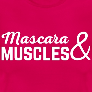 Mascara & Muscles Gym Quote  T-shirts - Vrouwen T-shirt