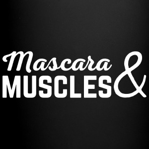 Mascara & Muscles Gym Quote  Mokken & toebehoor - Mok uni