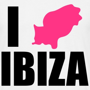 I heart ibiza - Men's T-Shirt