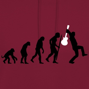 Evolution of rock Pullover & Hoodies - Unisex Hoodie