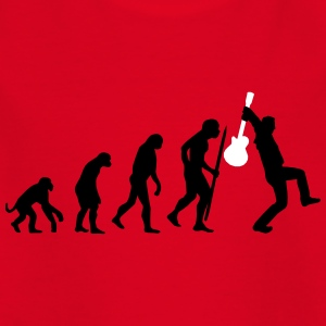 Evolution of rock Camisetas - Camiseta adolescente