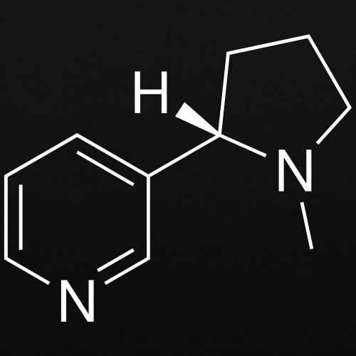 Nicotine (Cigarettes) Molecule