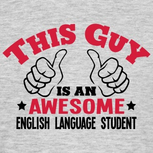 Language t shirts spreadshirt - Awesome englisch ...