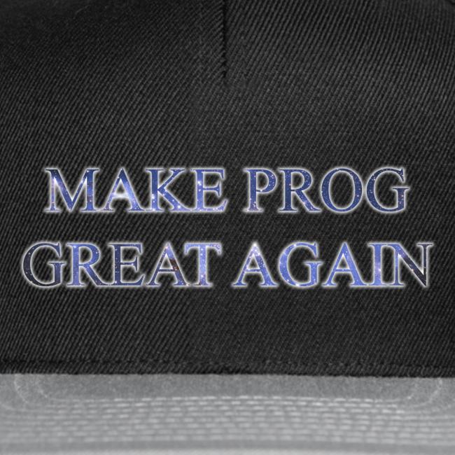 Prog Snob - MPGA - Snapback