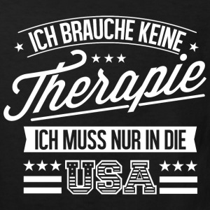 Therapie USA Fan Amerika T-Shirts - Kinder Bio-T-Shirt