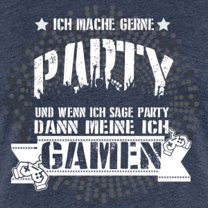 Gamen  T-Shirts - Frauen Premium T-Shirt